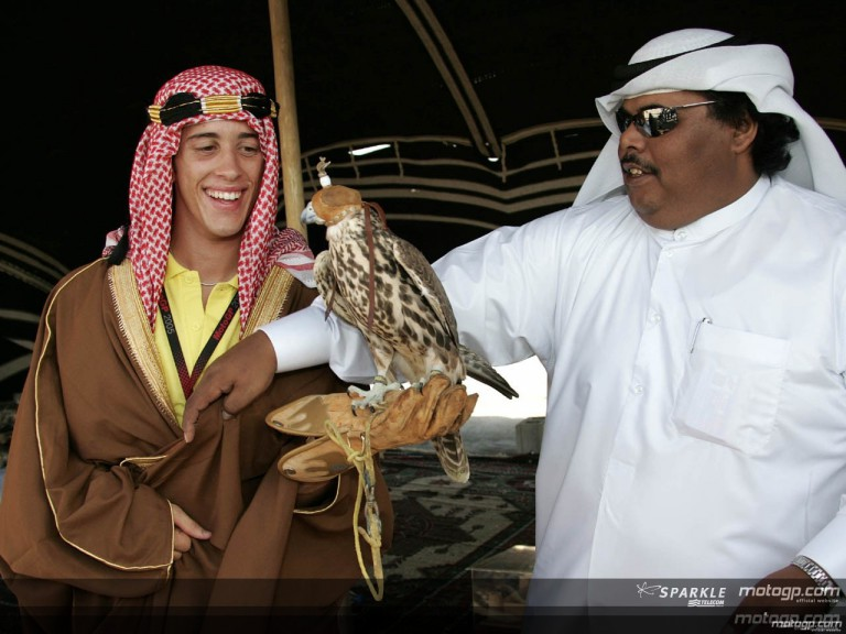 MotoGP riders enjoy local colour at Losail