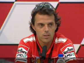 Loris Capirossi Interview - Press Conference