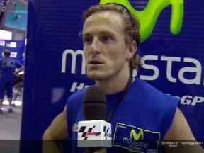 Sete Gibernau interview after FP2