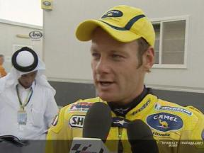 Shane Byrne interview after race