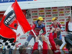 Lavilla - Podium - Brands Hatch
