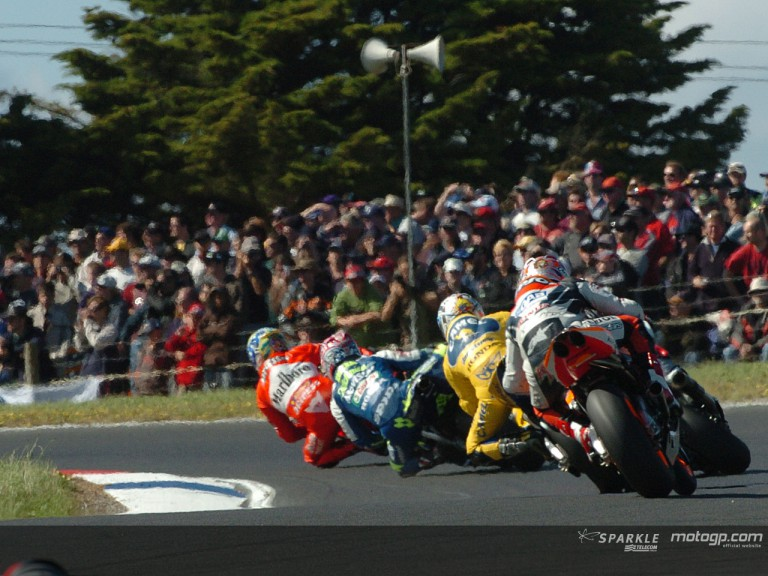 Group motogp Phillip Island 2004