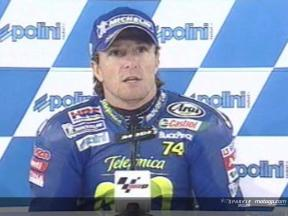 Intervista a Sete Gibernau post QP