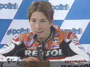 Nicky Hayden Interview nach dem Rennen
