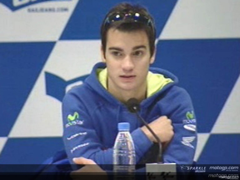 Daniel Pedrosa interview at the Press Conference