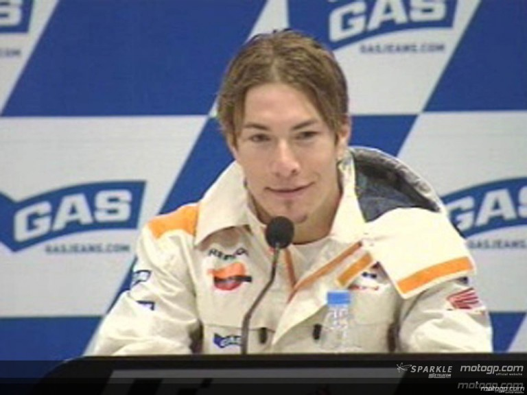Nicky Hayden interview at the Press Conference