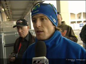 Intervista a Sete Gibernau post FP2