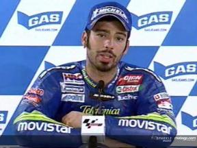 Marco Melandri interview after QP