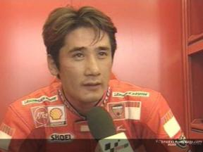 Shinichi Ito interview after race