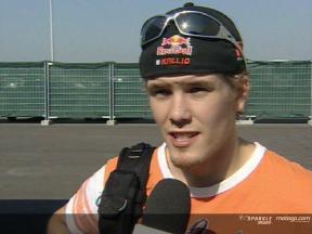 Mika Kallio interview after race