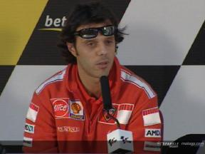 Intervista a Loris Capirossi - Press Conference