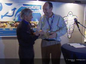 Michelin holds farewell party for their racing director