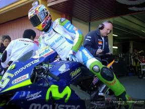 Luthi - Test Honda MotoGP