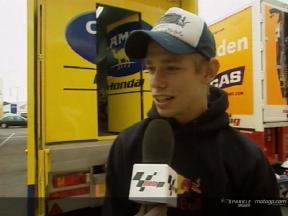 Casey Stoner Interview - Valencia Test