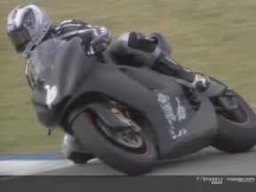 Ducati Test in Jerez