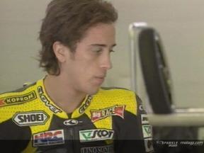 Andrea Dovizioso testing in Jerez