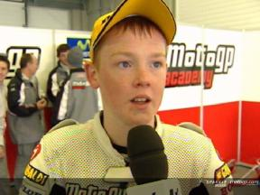 Entrevista a Bradley Smith tras la carrera en Jerez