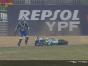 Gibernau crashes out of the lead at Estoril