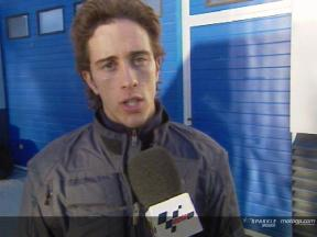 Andrea Dovizioso Interview nach dem Jerez Test