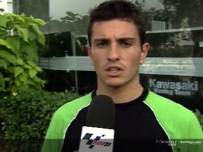 Interview de Randy De puniet apres Sepang Test