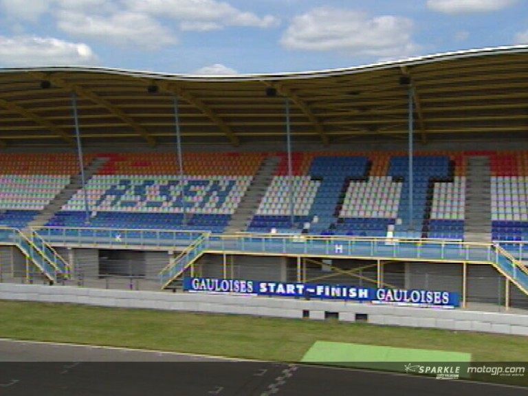 Assen all set after track improvements and with new floating grandstand
