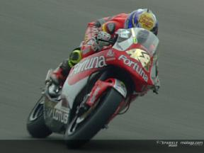 Commented highlights of the 250cc practice in Mugello