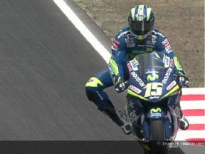 Commented highlights of the MotoGP practice in Catalunya