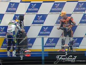 Enjoy the 125cc race at Assen, with commentary