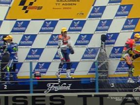 Enjoy the 250cc race at Assen, with commentary
