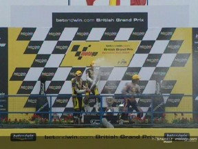 Enjoy the 125cc race at Donington Park, with commentary