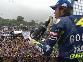 Enjoy the MotoGP race at Donington Park, with commentary