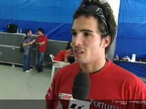 Toni Elias Interview - Sepang Test