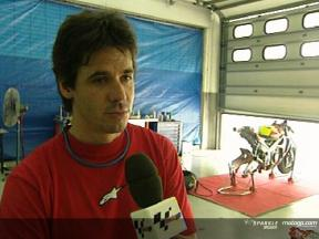Alex Criville Interview - Sepang Test