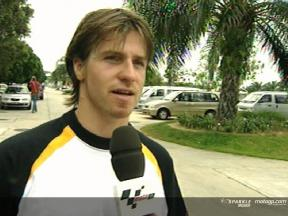 James Ellison Interview - Sepang test