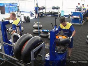 Guerra de neumáticos (1ª parte): Michelin (Versión italiana)