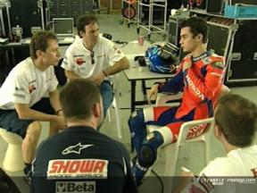 Repsol Honda continue their development at first 2006 Test