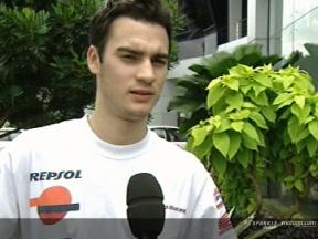 Daniel Pedrosa interview after the Sepang Test