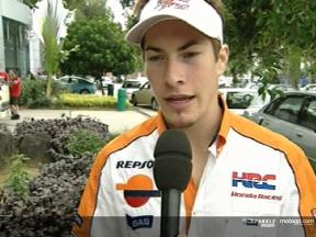 Nicky Hayden interview after the Sepang Test