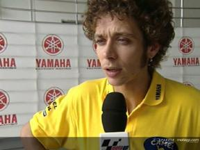 Valentino Rossi interview after Sepang Test