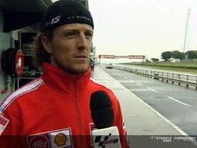Sete Gibernau interview at Phillip Island