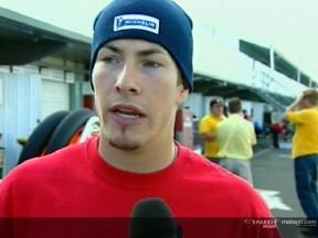 Hayden parla con motogp.com delle cadute, della nuova moto e della stagione 2006