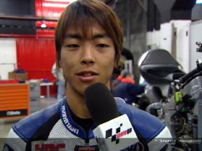 Shuhei Aoyama interview after Catalunya Test