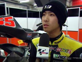 Yuki Takahashi Interview nach dem Catalunya Test
