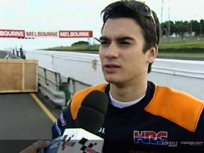 Dani Pedrosa evaluates his development on the Honda after Australia Test