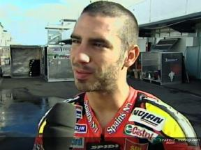 Interview de Marco Melandri apres Phillip Island Test