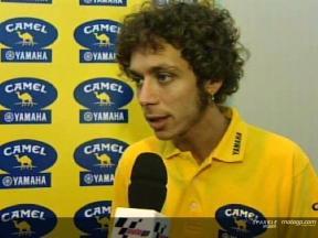 Interview de Valentino Rossi - Qatar test