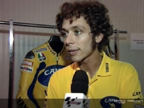 Valentino Rossi interview after Qatar Test