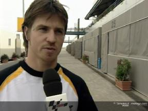 Intervista a James Ellison post Qatar Test