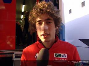 Intervista a Marco Simoncelli post Catalunya test