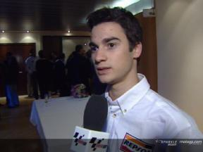 Interview with Pedrosa at the Repsol YPF Gala